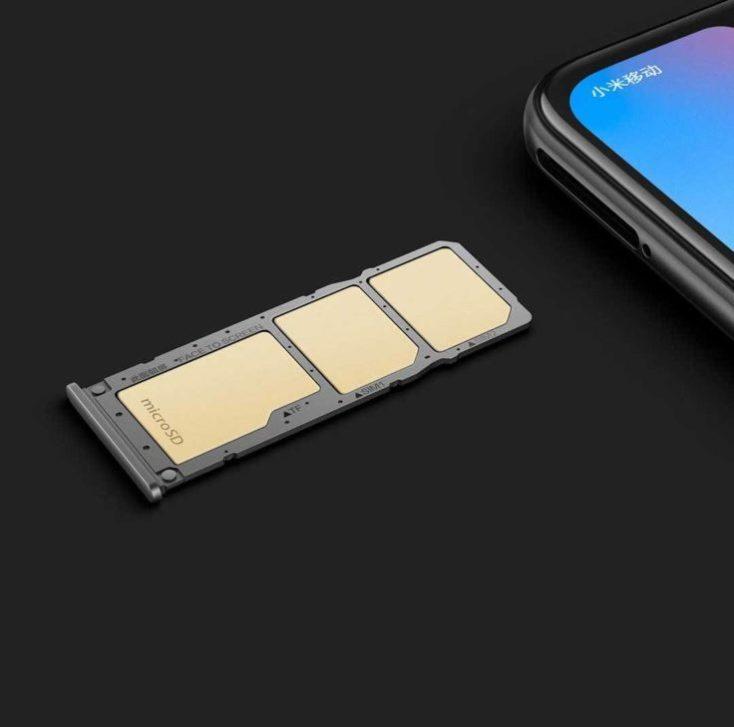 Xiaomi Redmi 6 Pro SIM slot