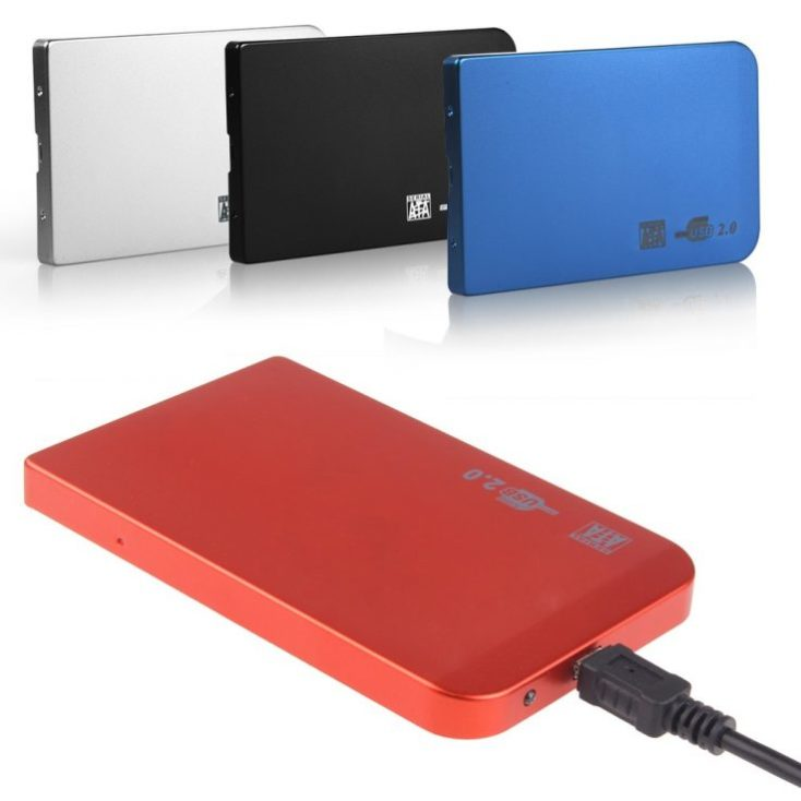2,5 inch hard disk enclosure