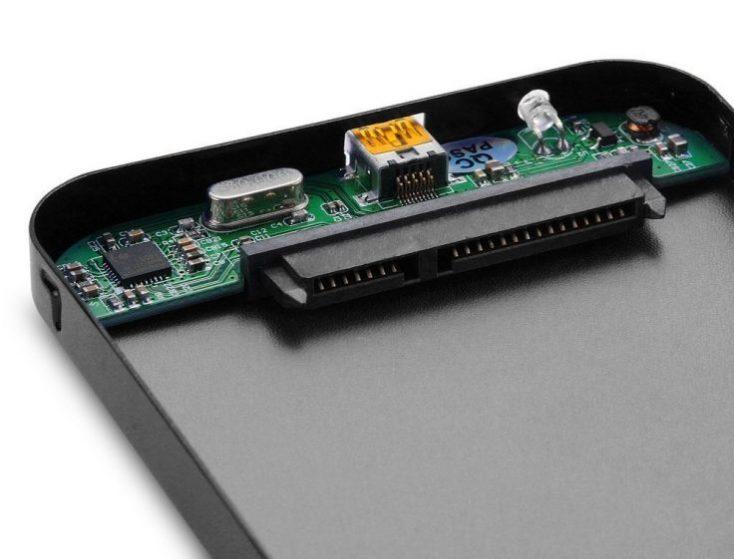 2,5 inch hard disk enclosure details