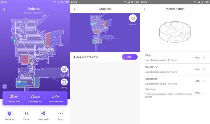 360 S7 Vacuum Robot 360Smart App Card Storage