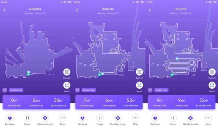 360 S7 Vacuum Robot 360Smart App Mapping