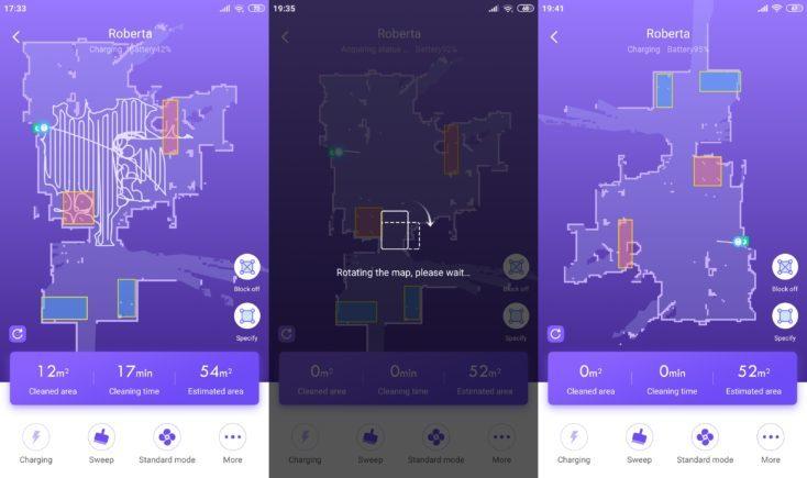 360 S7 Vacuum Robot 360Smart App Mapping No-Go Zones