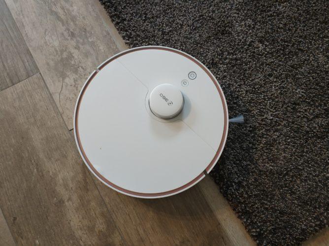 360 S7 vacuum robot carpet edges