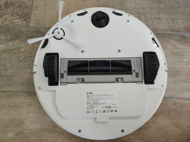 360 S7 vacuum robot underside