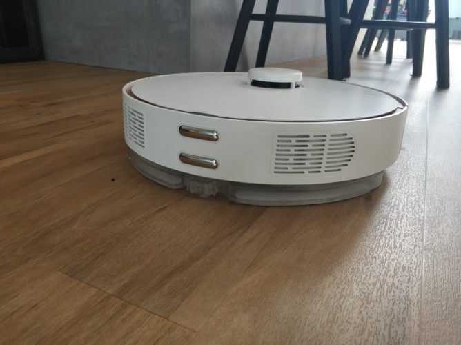 360 S7 vacuum robot wiping function