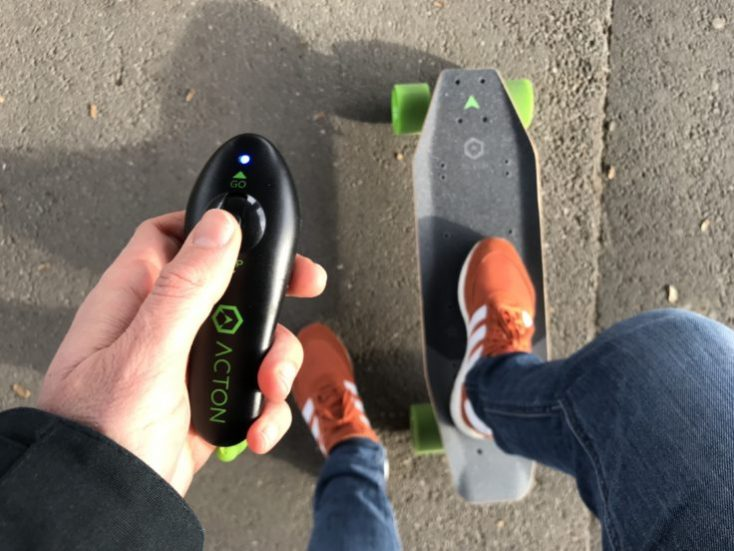 ACTON X1 E-Skateboard with remote control