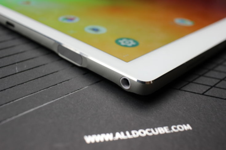 ALLDOCUBE X Tablet Headphone Connector
