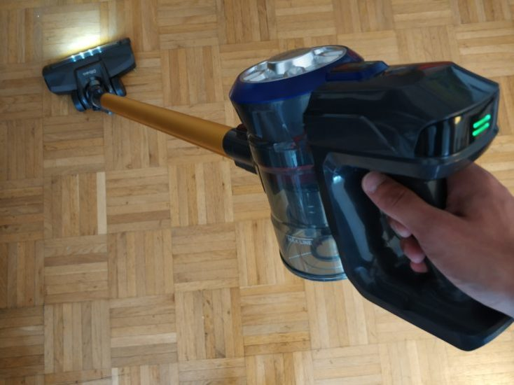 Dibea D18 battery vacuum cleaner
