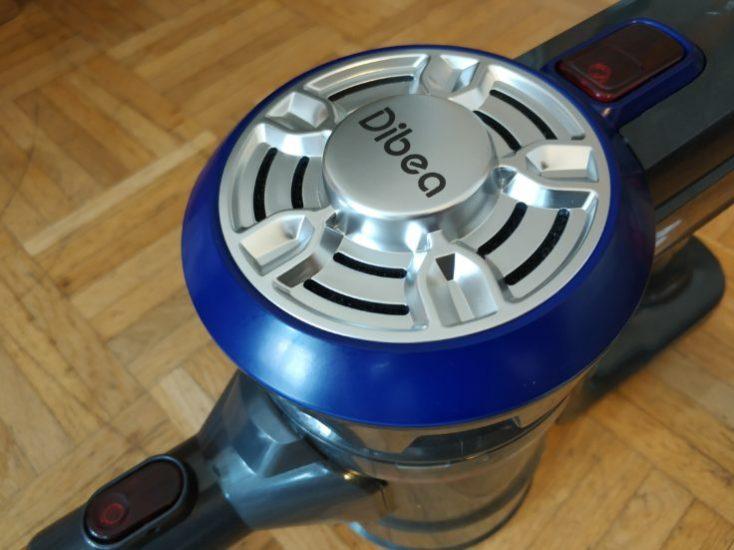 Dibea D18 battery vacuum cleaner design