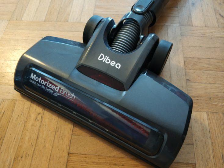 Dibea D18 battery vacuum cleaner floor nozzle