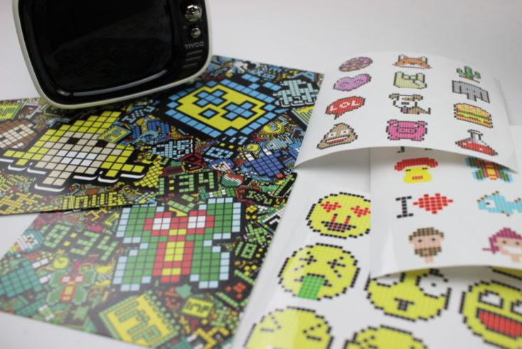 Divoom Tivoo LED Soundbox Sticker