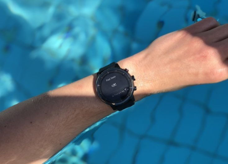 Huami Amazfit Stratos Swimming Pool Test