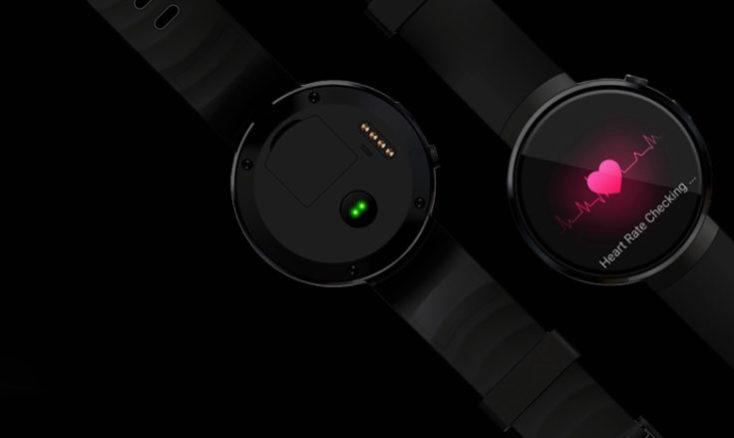 LEMFO LEM7 Smartwatch bottom side
