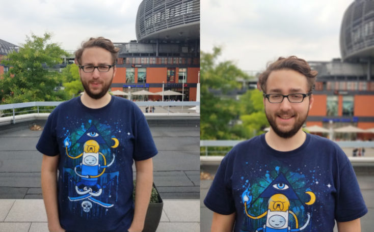 Meizu 15 Test Photo Camera Comparison Normal vs Camera