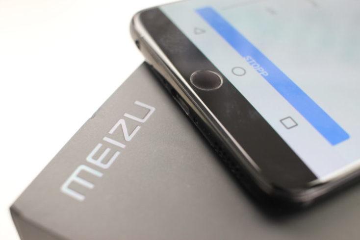 Meizu 15 mBack Button fingerprint sensor