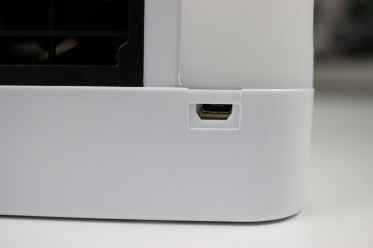 Micro USB Port of the Arctic Air