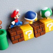Super Mario Magnet Set Collection