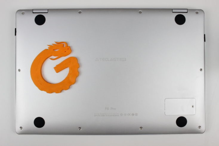 Teclast Tbook F6 Pro back side