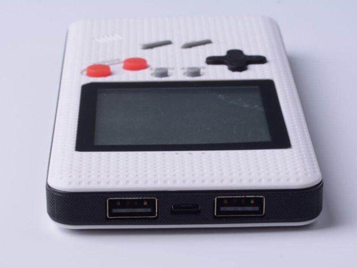 Xanes LF26 Game Boy Powerbank white