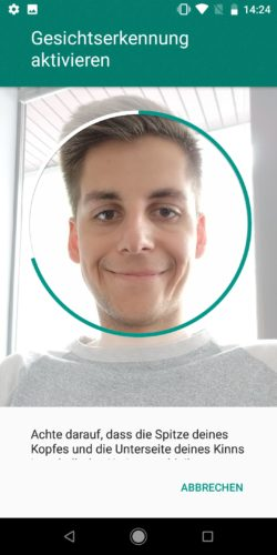 Xiaomi Mi A2 Face Recognition