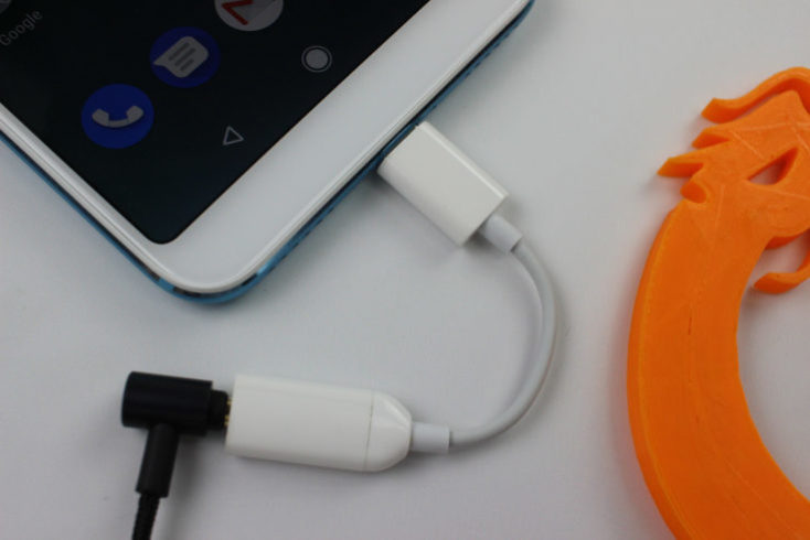 Xiaomi Mi A2 Smartphone USB C AUX Adapter