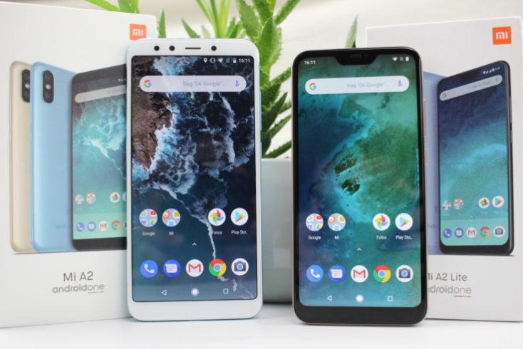 Xiaomi Mi A2 and Mi A2 Lite comparison