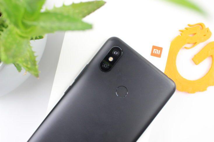Xiaomi Mi Max 3 back side