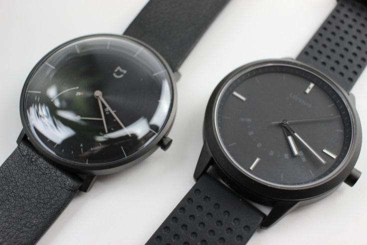 Xiaomi Mijia Hybrid Smartwatch SYB01 Comparison Lenovo