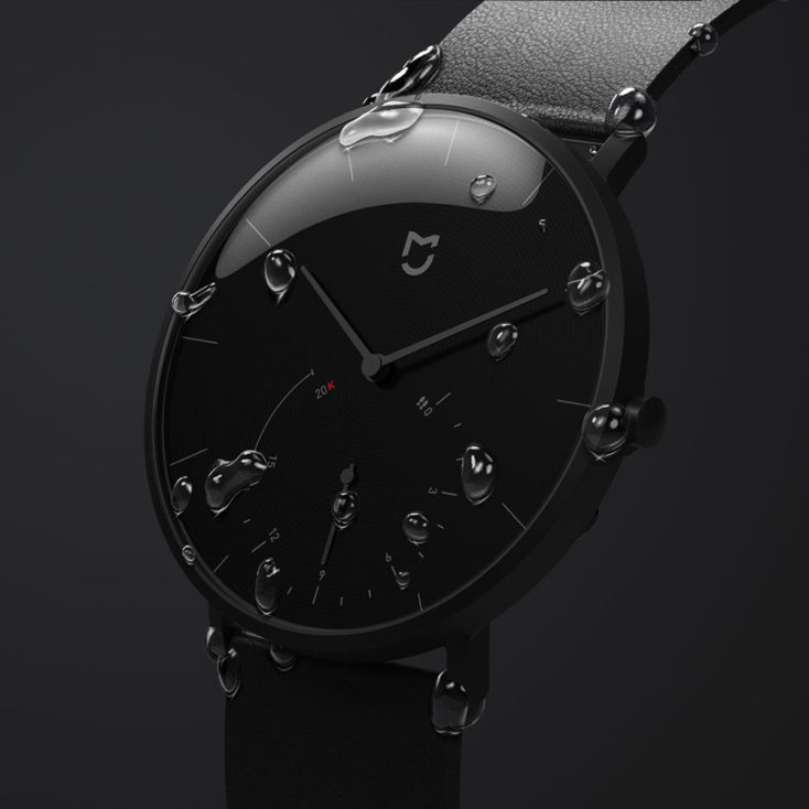 The Clock face of the Xiaomi Mijia SYB01 Hybrid-Smartwatch