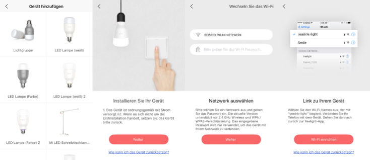 Yeelight Smart Bulb App Setup