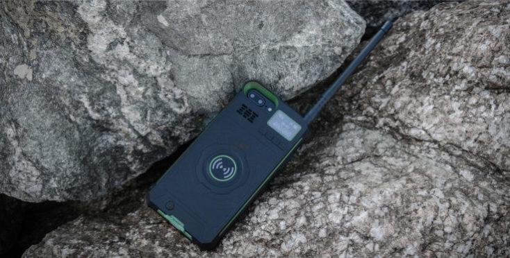 DT NO.1 Walkie Talkie iPhone Case Stone