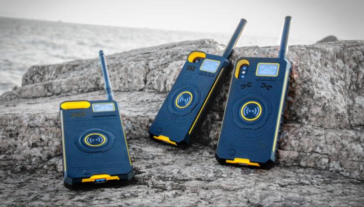 DT NO.1 Walkie Talkie iPhone Case walkie talkie