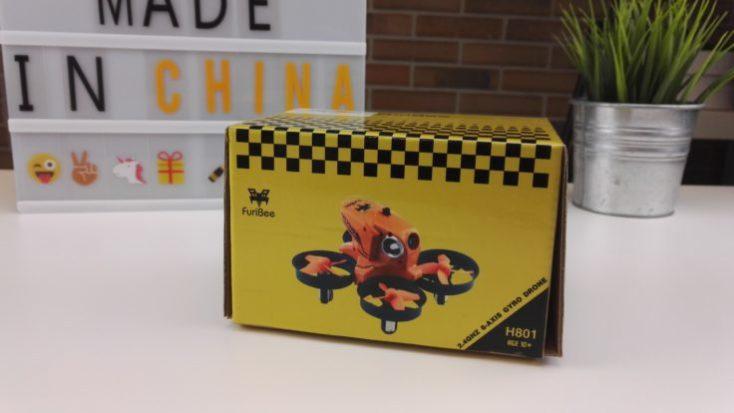 FuriBee H801 Drone Packaging