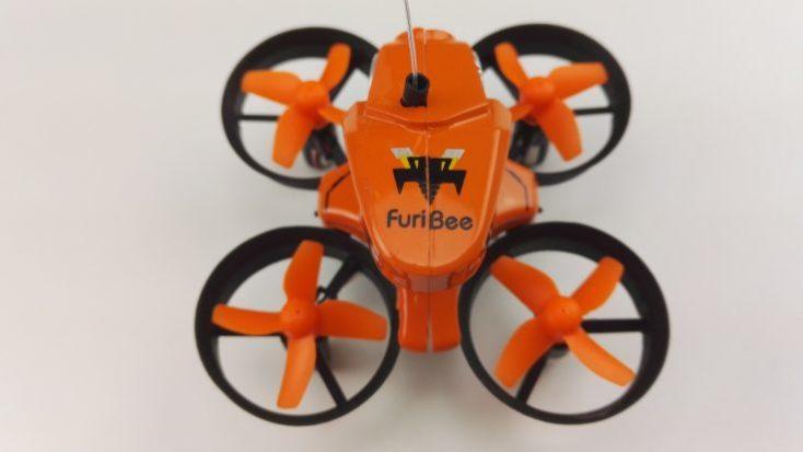 FuriBee H801 Mini Drone top