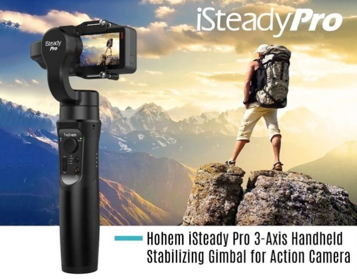 Hohem iSteady Pro Gimbal Actioncam
