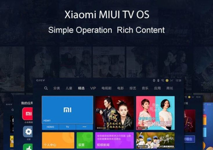 INOVEL Mini-Beamer 1080p MIUI TV