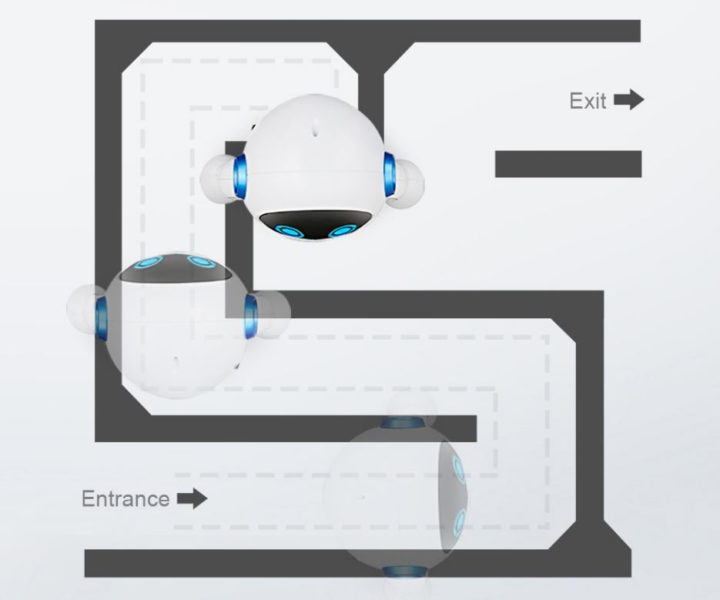 JJRC R6 CADY WIGI Robot Solve Labyrinth
