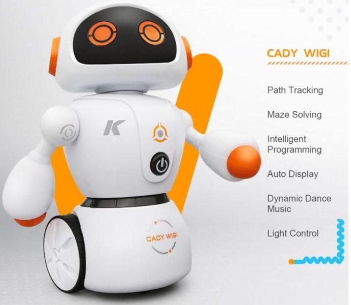 JJRC R6 CADY WIGI robot functions