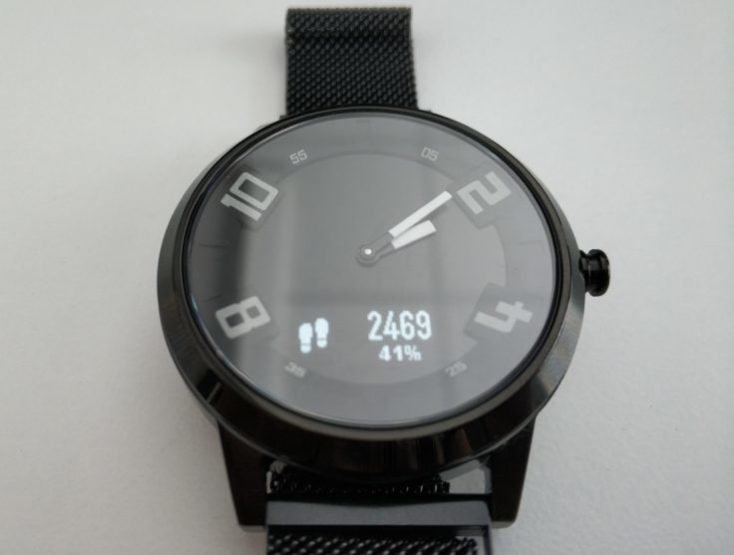 Lenovo Watch X Display Steps