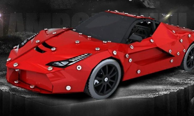 Micro Steel World Sports Car Kit