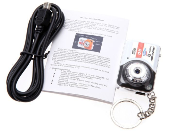 Mini Digital Camera X6 Accessories