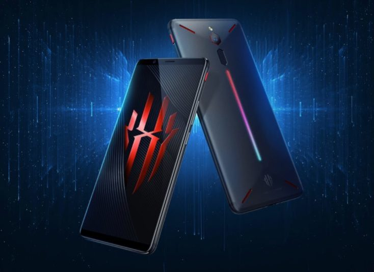 Nubia Red Magic Gaming Smartphone Front and Back