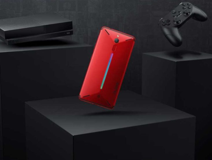 Nubia Red Magic back side