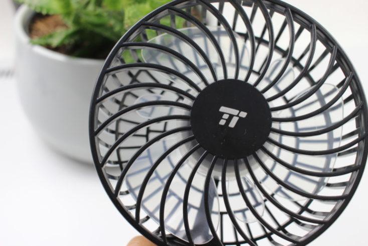 TaoTronics hand-held fan logo