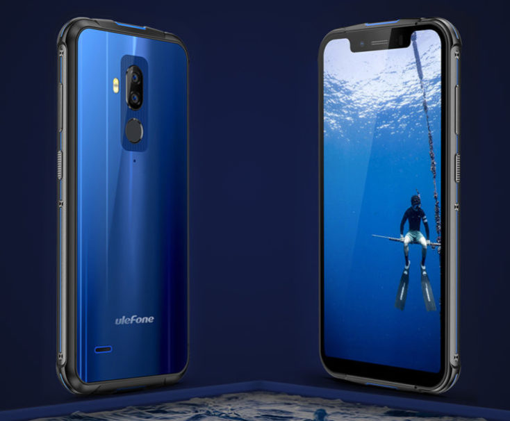 Ulefone Armor 5 front and back