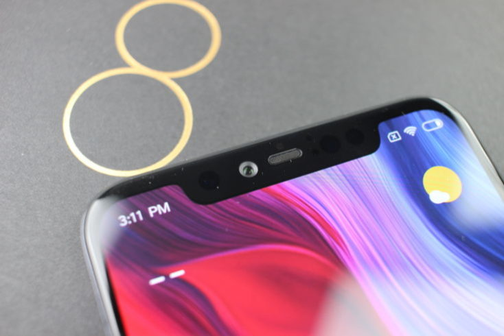 Xiaomi Mi 8 Explorer Edition Front Camera Notch