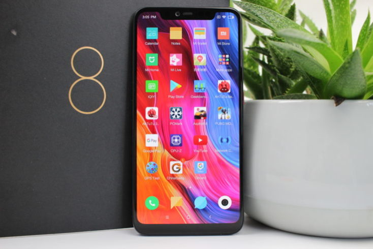 Xiaomi Mi 8 Explorer Edition Standing Smartphone