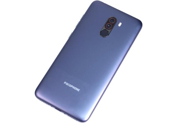 Xiaomi Pocophone F1 back side