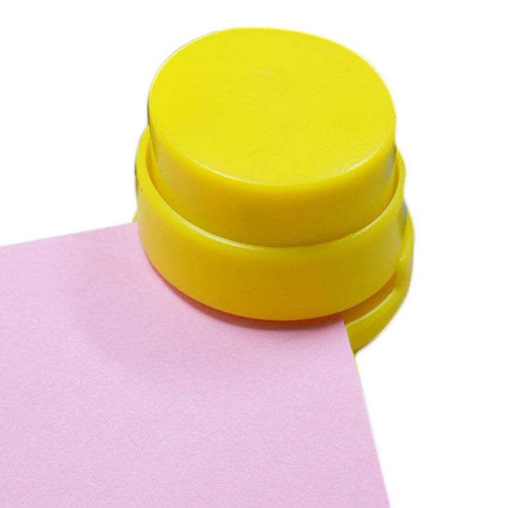 yellow mini stapler