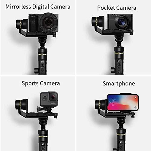 FeiyuTech G6 Plus DSLR Gimbal different camera types